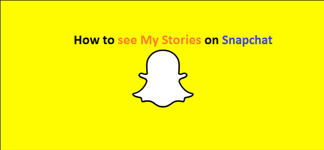 How to check My Stories in Snapchat