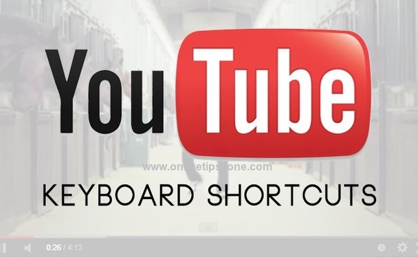 youtube shortcut keys