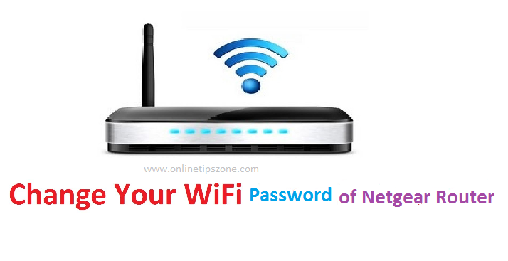 change netgear password