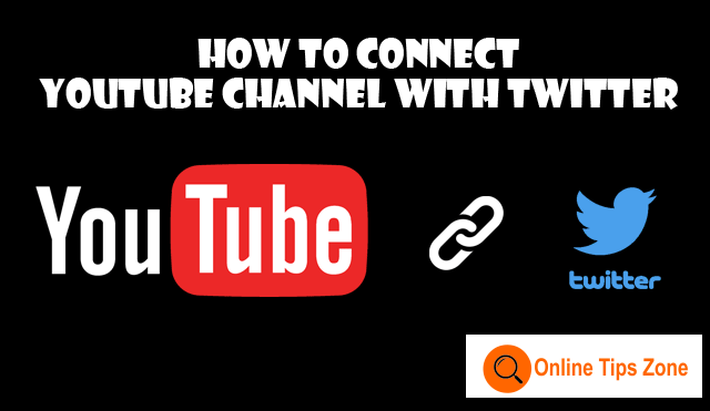 connect youtube with twitter