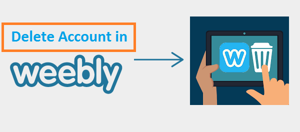 How to Delete Weebly Account
