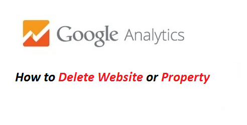How to delete Google Analytics Property