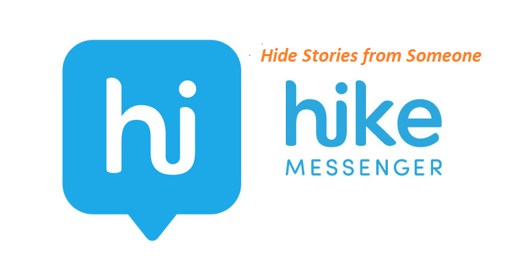 hide hike stories from someone on hike