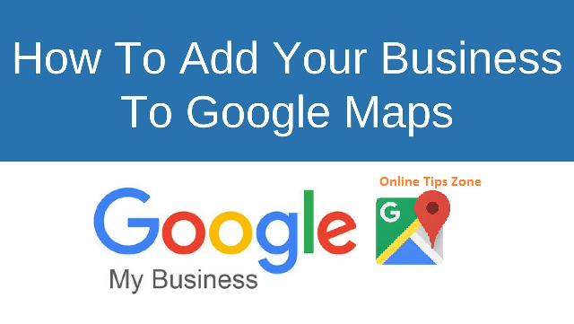 add business in google maps