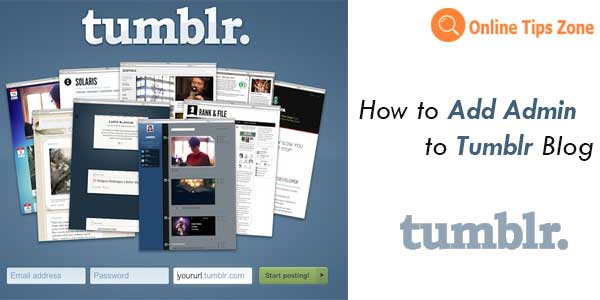 How to add members to Tumblr Blog