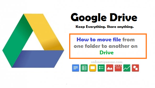 how to move google drive files