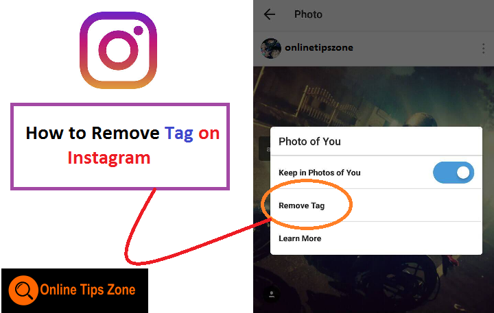 How to Remove Tag on Instagram