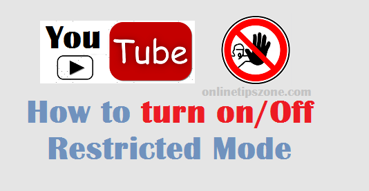 How to turn off safe mode on YouTube