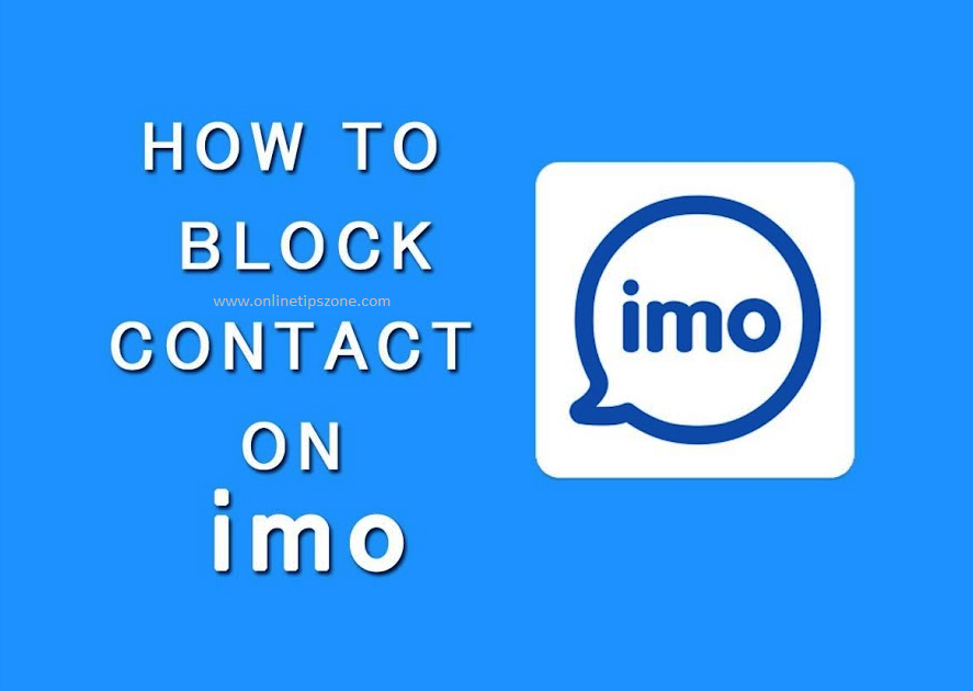 How to Block contact in IMO