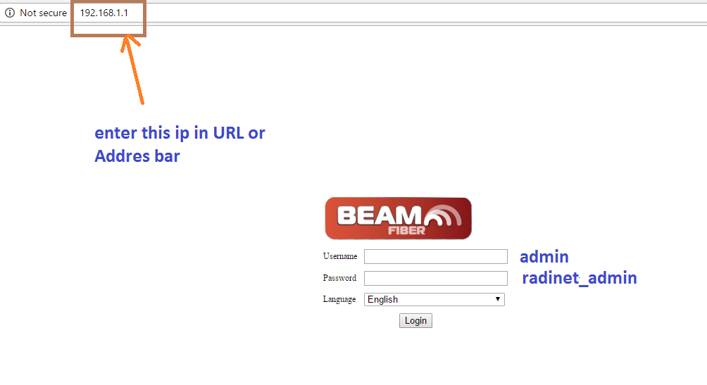 beam wifi password change