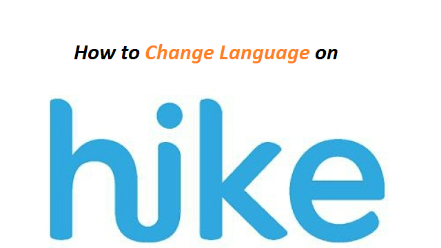 How to change Language in Hike Messenger