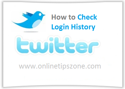 How to Check Twitter Login History