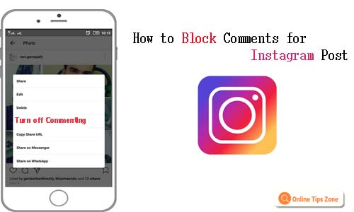 How to turn off comments for Instagram post