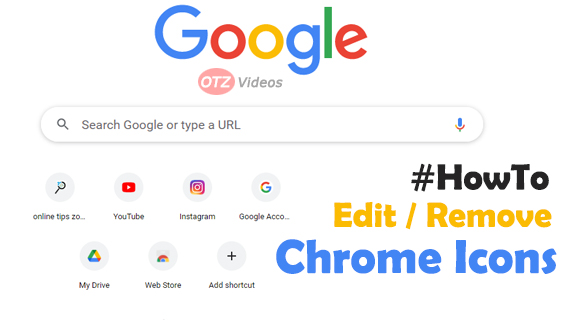 How to edit Chrome Shortcuts