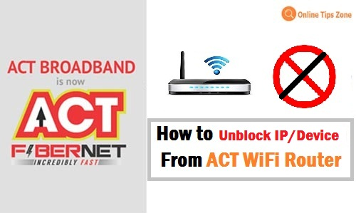 How to Unblock Someone on ACT Wifi