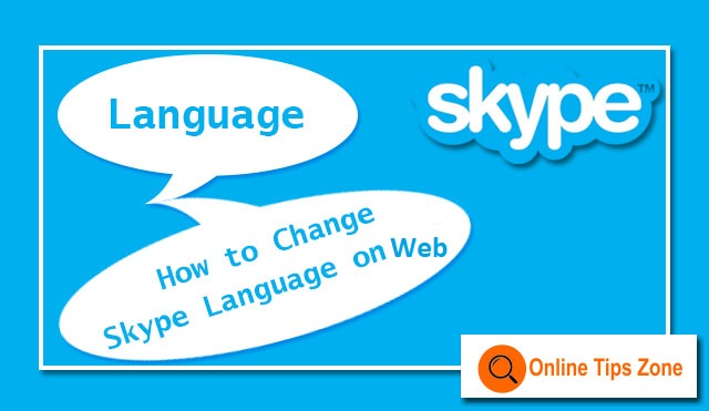 how to change language in skype