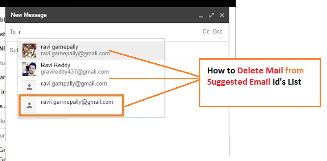 How to remove Email From Gmail