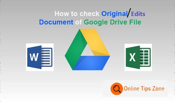how to retrieve  deleted text in Google Drive