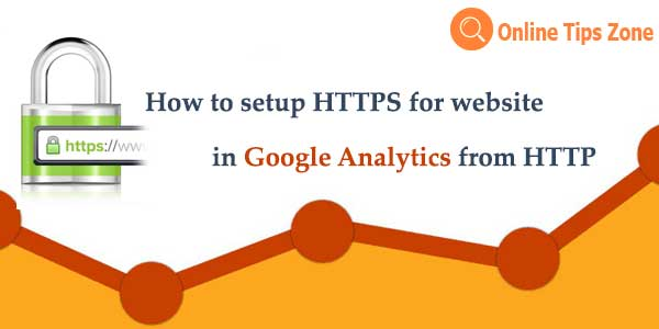 How to update http with https in Google Analytics