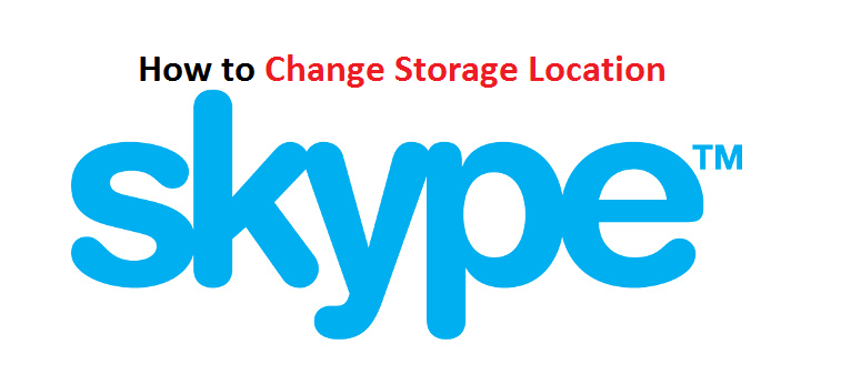 How to change Skype download Folder | Skype download location