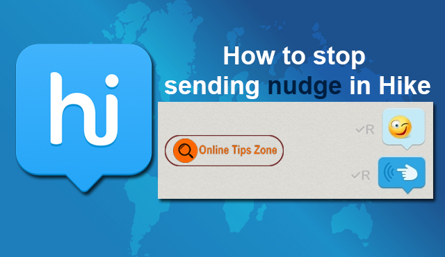 stop nudge in hike