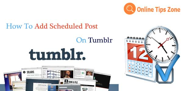 tumblr scheduled post